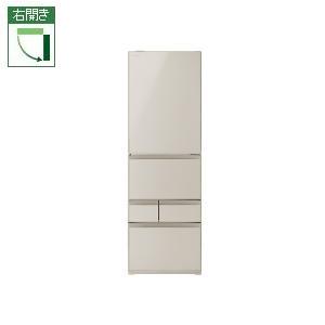 【標準設置料金込】東芝 GR-R41GXV-EC(サテンゴールド) 5ドア冷蔵庫 右開き 411L[代引・リボ・分割・ボーナス払い不可]