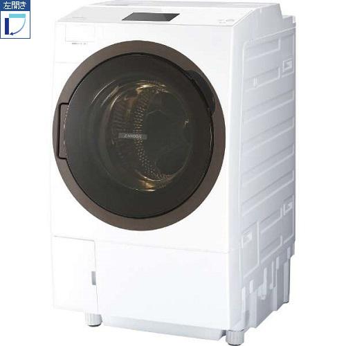 【標準設置料金込】東芝 TW-127X8L-W(グランホワイト) ドラム式洗濯乾燥機 左開き 洗濯12kg/乾燥7kg[代引・リボ・分割・ボーナス払い不可]
