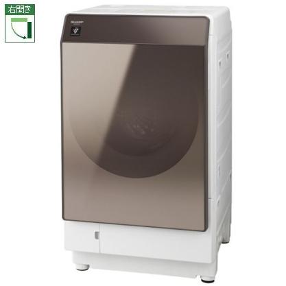【標準設置料金込】【送料無料】シャープ ES-G112-TR(ブラウン) ドラム式洗濯乾燥機 右開き 洗濯11kg/乾燥6kg[代引・リボ・分割・ボーナス払い不可]