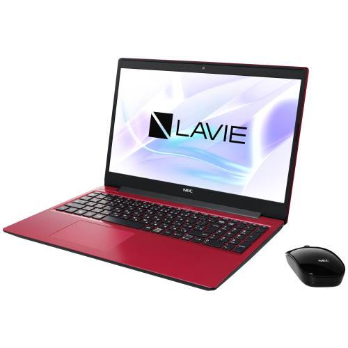 【長期保証付】NEC PC-NS700RAR(カームレッド) LAVIE Note Standard 15.6型 Core i7/8GB/256GB+1TB