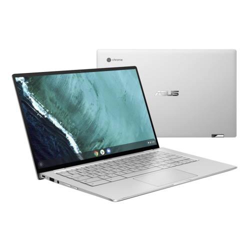ASUS C434TA-AI0095(シルバー) Chromebook Flip14型 Core m3/4GB/32GB