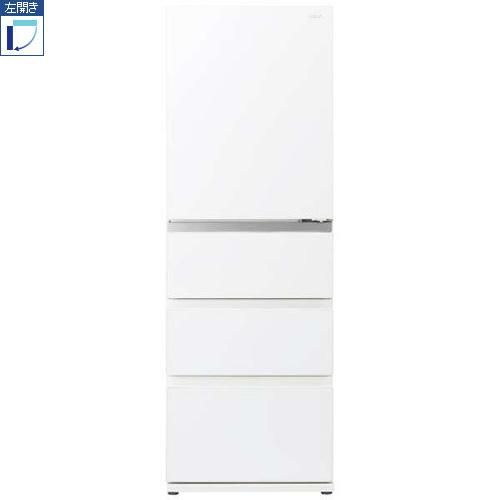 【標準設置料金込】【送料無料】アクア AQR-VZ43JL-W(クリアウォームホワイト) 4ドア冷蔵庫 左開き 430L[代引・リボ・分割・ボーナス払い不可]