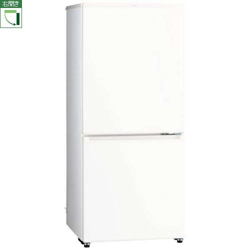 【標準設置料金込】【送料無料】アクア AQR-20J-W(ミルク) 2ドア冷蔵庫 右開き 201L[代引・リボ・分割・ボーナス払い不可]