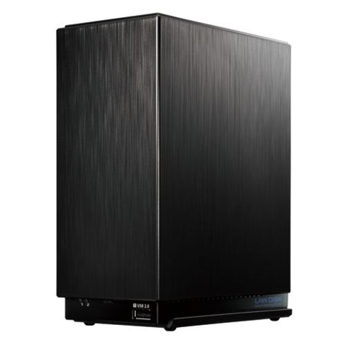 IODATA HDL2-AAX4 デュアルコアCPU搭載 ネットワーク接続ハードディスク 4TB 2ベイ
