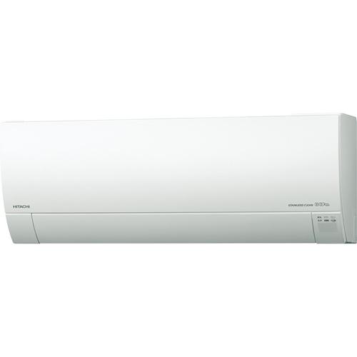 【工事料金別】【長期保証付】日立 RAS-G28K-W(スターホワイト) 白くまくん Gシリーズ 10畳 電源100V[代引・リボ・分割・ボーナス払い不可]