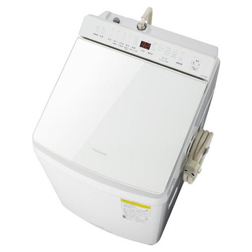 【標準設置料金込】【長期保証付】【送料無料】パナソニック NA-FW80K8-W(ホワイト) 洗濯乾燥機 上開き 洗濯8kg/乾燥4.5kg[代引・リボ・分割・ボーナス払い不可]