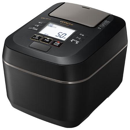 【長期保証付】日立 RZ-W100DM-K(フロストブラック) ふっくら御膳 IHジャー炊飯器 5.5合