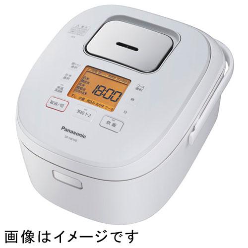 【長期保証付】パナソニック SR-HB180-W(ホワイト) IHジャー炊飯器 1升