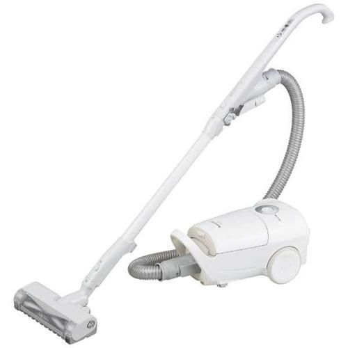 【長期保証付】パナソニック MC-JP830K-W(ホワイト) 紙パック式掃除機 からまないブラシ