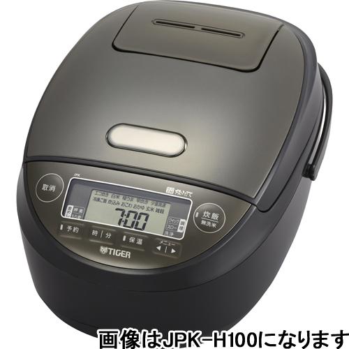 【長期保証付】タイガー魔法瓶 JPK-H180K(ブラック) 炊きたて IH炊飯ジャー 1升