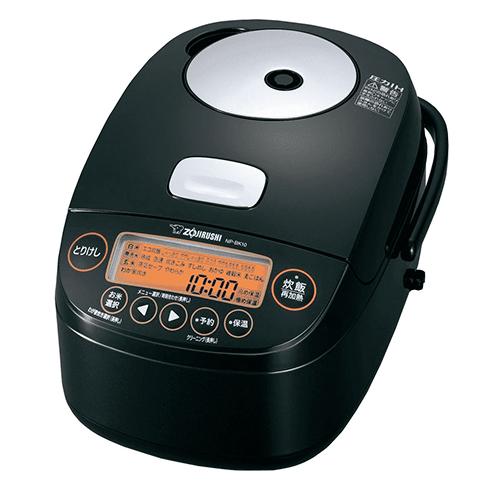 象印 NP-BK10-BA(ブラック) 極め炊き 圧力IH炊飯ジャー 5.5合