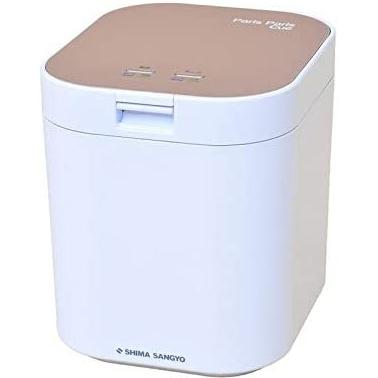 【長期保証付】島産業 PPC-11-PG(ピンクゴールド) 家庭用生ごみ減量乾燥機 パリパリキュー 2.8L