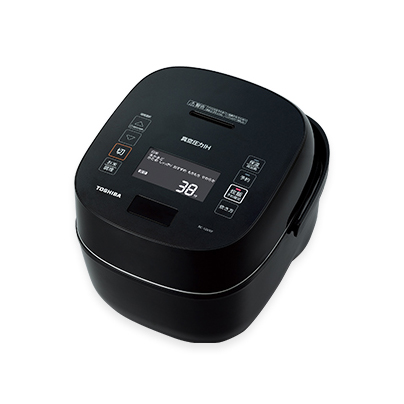 【長期保証付】東芝 RC-10VXP-K(グランブラック) 炎匠炊き 真空圧力IHジャー炊飯器 5.5合