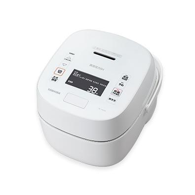 【長期保証付】東芝 RC-18VXP-W(ホワイト) 炎匠炊き 真空圧力IHジャー炊飯器 1升