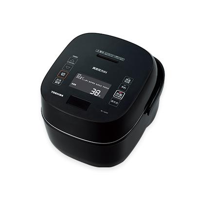 【長期保証付】東芝 RC-18VXP-K(グランブラック) 炎匠炊き 真空圧力IHジャー炊飯器 1升
