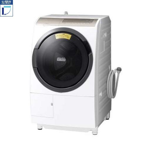 【標準設置料金込】【長期保証付】【送料無料】日立 BD-SV110FL-W(ホワイト) 洗濯乾燥機 左開き 洗濯11kg/乾燥6kg[代引・リボ・分割・ボーナス払い不可]