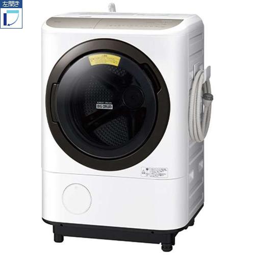 【標準設置料金込】【長期保証付】【送料無料】日立 BD-NV120FL-W(ホワイト) 洗濯乾燥機 左開き 洗濯12kg/乾燥7kg[代引・リボ・分割・ボーナス払い不可]