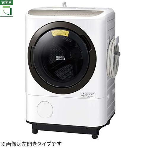 【標準設置料金込】【長期保証付】【送料無料】日立 BD-NV120FR-W(ホワイト) 洗濯乾燥機 右開き 洗濯12kg/乾燥7kg[代引・リボ・分割・ボーナス払い不可]