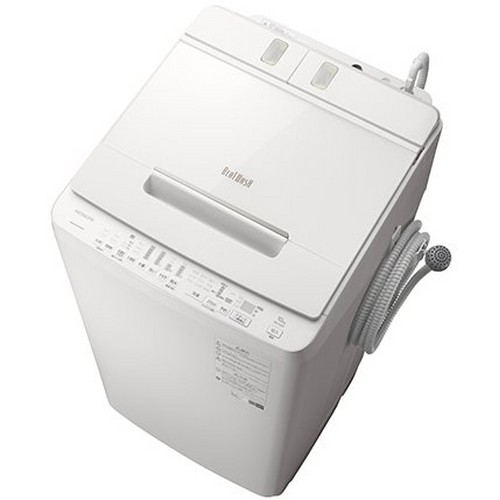 【設置+リサイクル+長期保証】日立 BW-X100F-W(ホワイト) 全自洗 上開き 洗濯10kg
