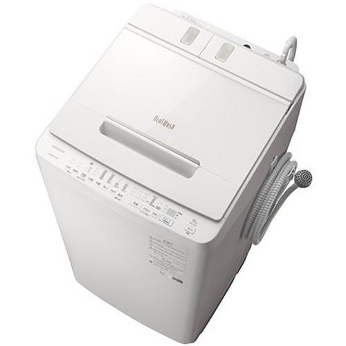 【設置+長期保証】日立 BW-X100F-W(ホワイト) 全自洗 上開き 洗濯10kg