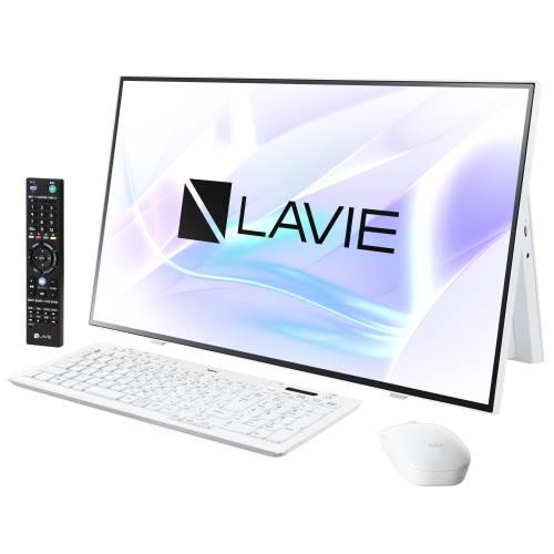 【長期保証付】NEC PC-HA970RAW(ファインホワイト) LAVIE HOME All-in-one 27型 TVチューナー搭載