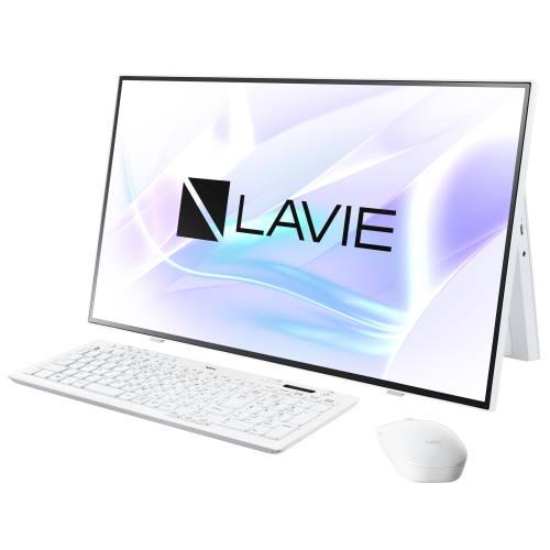 【長期保証付】NEC PC-HA700RAW(ファインホワイト) LAVIE HOME All-in-one 27型