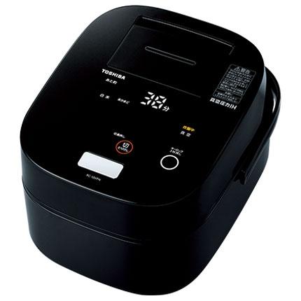 在庫あり 14時までの注文で当日出荷可能 東芝 卓越 RC-10VPN-K 真空圧力IHジャー炊飯器 5合 合わせ炊き 定価 グランブラック