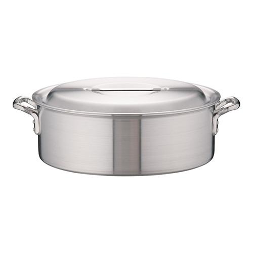 アカオアルミ 25%OFF 高品質 アルミDON外輪鍋 54cm