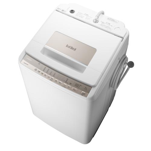新作製品 世界最高品質人気 設置 リサイクル 長期保証 日立 BW-T807-N 洗濯8kg シャンパン 全自動洗濯機 上 送料無料でお届けします ビートウォッシュ