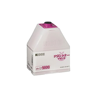 リコー 636077 純正 IPSiO トナーカートリッジ タイプ9800 マゼンタ