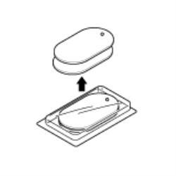 期間限定特価品 在庫あり 14時までの注文で当日出荷可能 オムロン HV-BIG-PAD 低周波治療器用大型電極パッド 安売り
