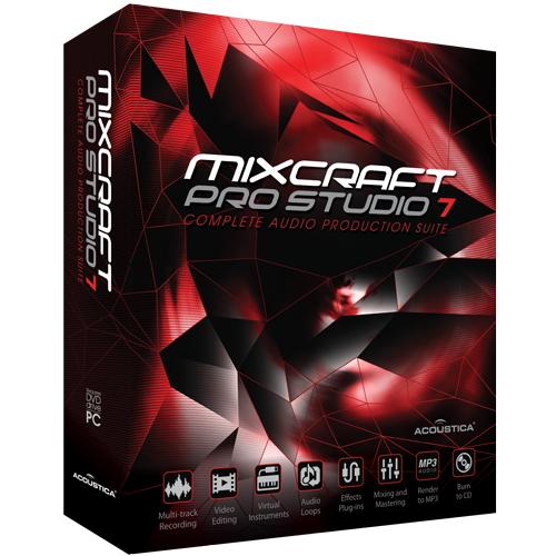 ACOUSTICA Mixcraft Pro Studio 7 通常版 Win