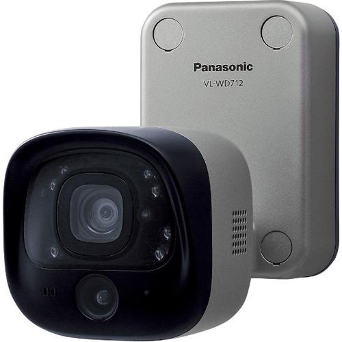 【長期保証付】パナソニック VL-WD712K ドアホン連携ワイヤレスカメラ