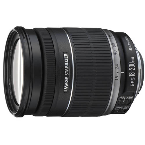 CANON EF-S18-200mm F3.5-5.6 IS