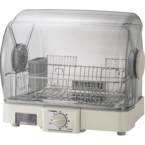 在庫あり 14時までの注文で当日出荷可能 長期保証付 誕生日プレゼント 象印 グレー 爆買いセール 食器乾燥機 EY-JF50-HA 5人用