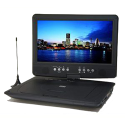 【長期保証付】Wizz DV-PT1060 10.1インチ ポータブルDVDプレイヤー