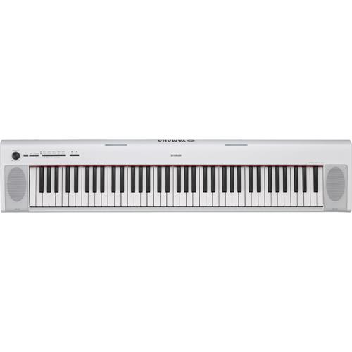 【長期保証付】ヤマハ piaggero(ピアジェーロ) 電子キーボード 76鍵盤 NP-32WH(ホワイト)