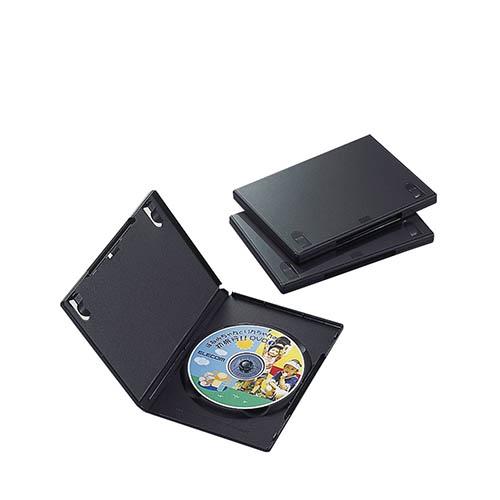 エレコム 超目玉 CCD-DVD01BK (訳ありセール 格安) ブラック 1枚収納 トールケース