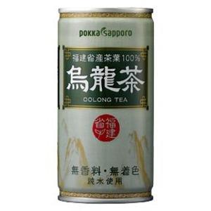 \楽天スーパーSALE/【まとめ買い】ポッカサッポロ 烏龍茶 缶 190g 60本入り(30本×2ケース)