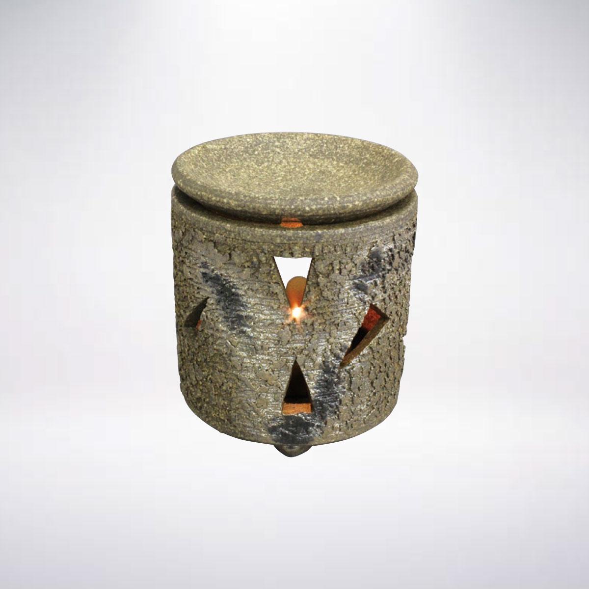 消臭 脱臭 効果あり間接照明としてのインテリアに 常滑焼 ロウソクタイプ茶香炉 アロマ 香料 上質 癒し インテリア 茶葉 お気に入り リラックス リラクゼーション 間接照明 陶器 雑貨