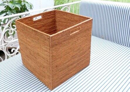 アタかご製キューブ型ラック【30cm角】