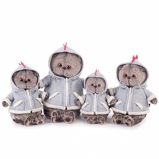 【メール便不可】『BUDI-BASA Basik ドラゴンパーカー 25cm』猫/ねこ/ネコ/ぬいぐるみ/人形/贈り物/ギフト/プレゼント/高品質/ハンドメイド/キッズ/子供/ロシア/フェイクファー/アレルゲンフリー/ふわふわ/安全/スコティッシュフォールド