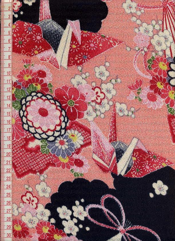 TOKOUAN: Kyoto-Crepe Paper Crane (the pattern fabric ...