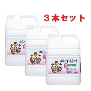 【業務用】キレイキレイ薬用泡ハンドソープ  シトラスフルティー 4L×3個入り