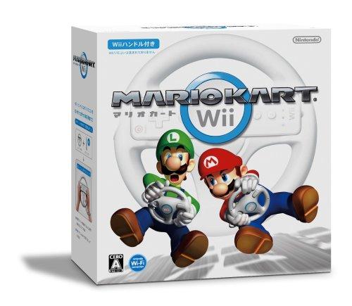 マリオカートWii Wiiハンドル ×1同梱 AL完売しました。 ラッピング無料