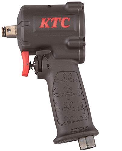 京都機械工具(KTC) 12.7sq エアインパクトレンチ(フラットノーズタイプ) JAP418 コンパクト&ハイパワー 奥行17.6×高さ6.5×幅9.9cm エアカプラ、エアツール用オイル