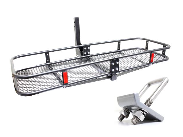 処分特価 折り畳み式 ヒッチキャリアカーゴC01 ガタストップセット
