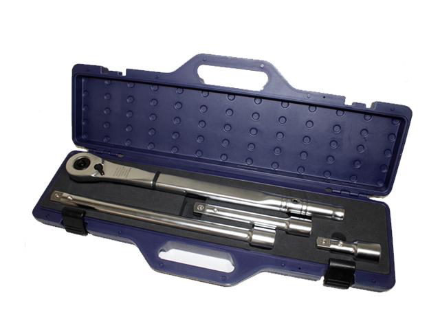【数量限定1個】4pc ラチェットエクステンションバーセット 差込角19mm 3/4