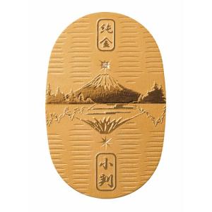 【純金製額 ダイヤモンド富士小判】純金 K24 富士山 小判 額縁 壁掛け 卓上