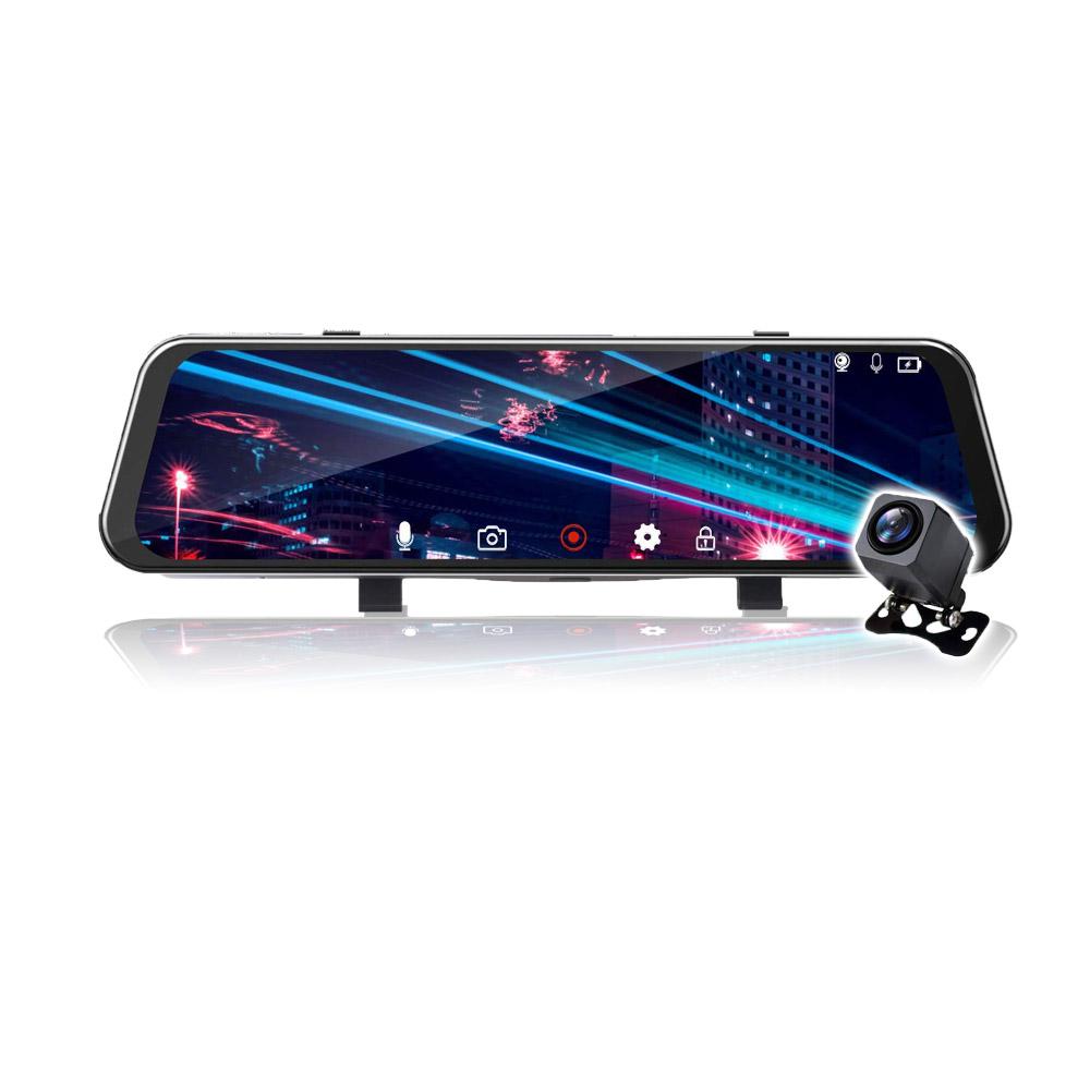 2K 高画質 ミラー型 ドライブレコーダー 前後 録画 ドラレコ フルHD 1080P 140° 高画質 W録画 リアカメラ あおり 対策 バック Gセンサー